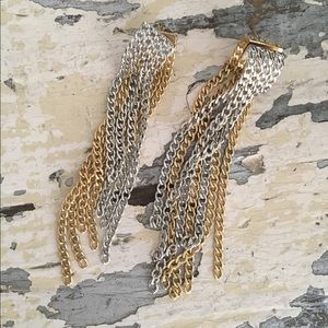 COPY - Citrine By The Stones Gold and Silver Earr…